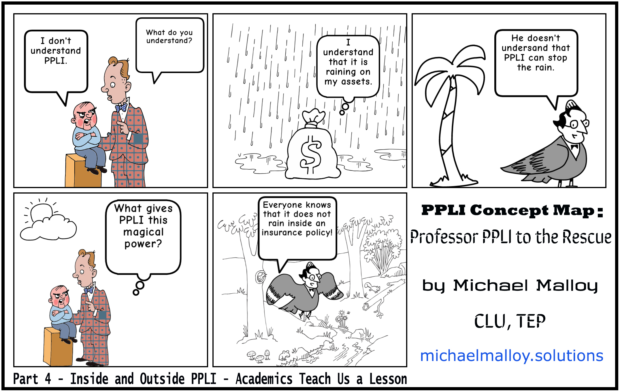 Part 4 - Inside and Outside PPLI - Academics Teach Us a Lesson